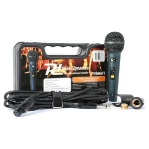 PDM 661 DYNAMIC MICROPHONE IN CASE