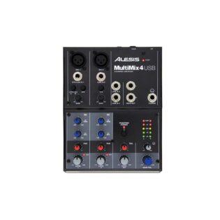Alesis MultiMix 4 USB Four-Channel USB Mixer