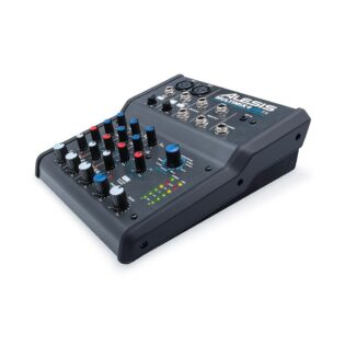 Alesis MultiMix 4 USB FX Four-Channel Mixer with Effects & USB